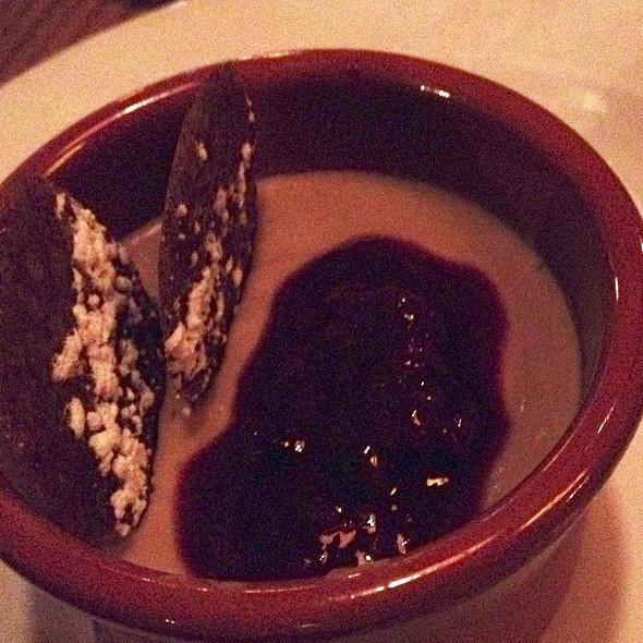 Earl Grey Pot De Creme - Lapellah Restaurant, Vancouver, WA