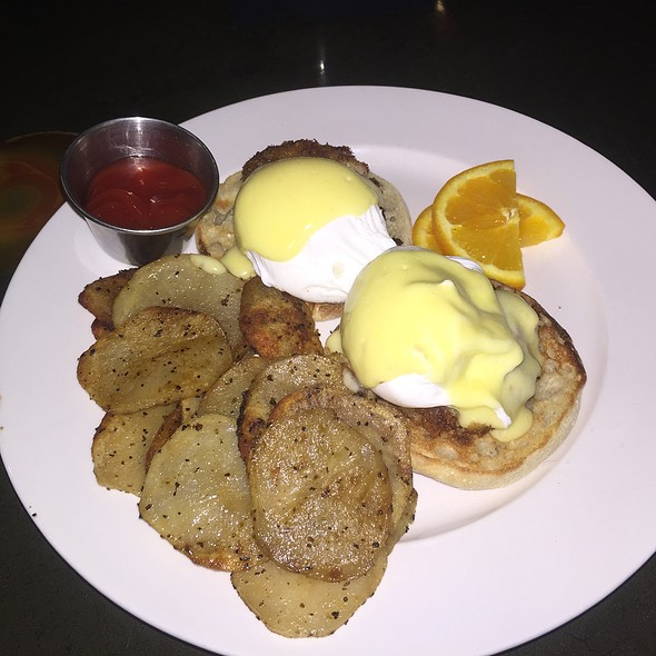 Maryland Benedict - Wild Flower Restaurant, Bar & Catering, St. Louis, MO