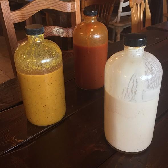 Yellow, Texas, Alabama White Bbq Sauce