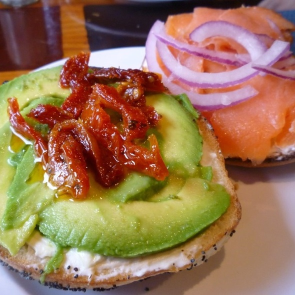 California and Lox Bagel