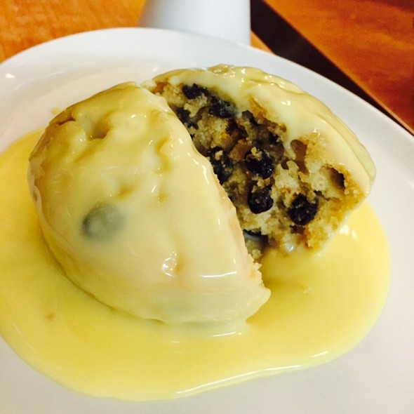 Spotted Dick and Custard @ The Rock And Sole Plaice