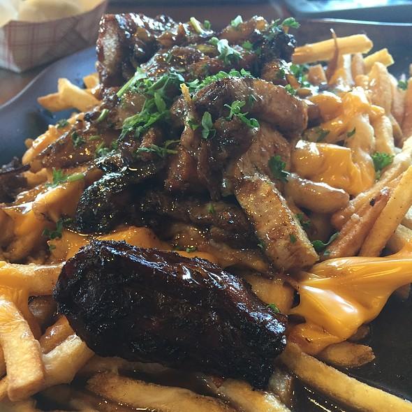 Pork Belly Poutine @ Le Bon De Cuisine