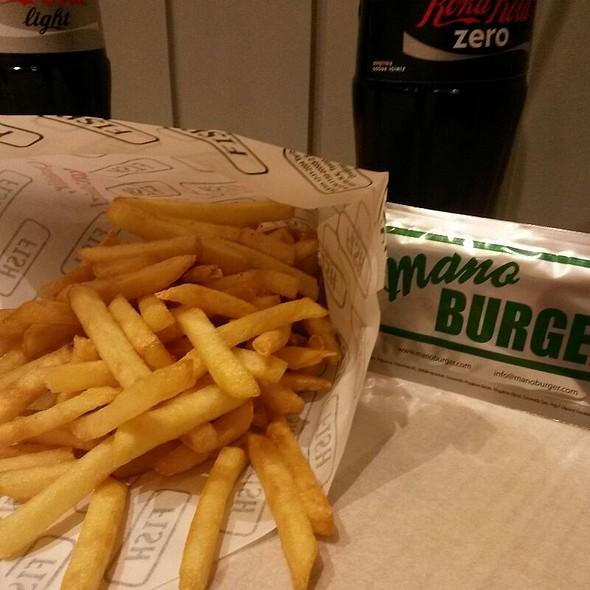 Fries @ Mano Burger Galatasaray