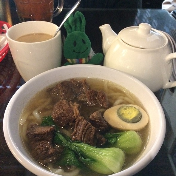 Beef Stew With Udon Soup