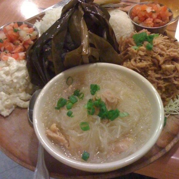 Hawaiian Plate @ Da Kitchen