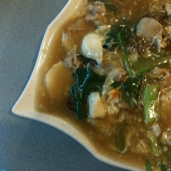 Hor Fun With Egg Gravy @ Keng Eng Kee Seafood