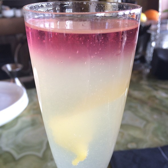French 75 Cocktail (Variation) - The 10th, Vail, CO