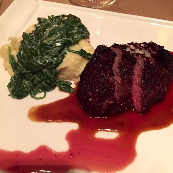 American Kobe Culotte Steak - Benchmark Restaurant, Brooklyn, NY