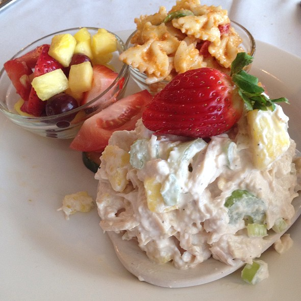 Hawaiian Chicken Salad - Petite Auberge Restaurant, Atlanta, GA