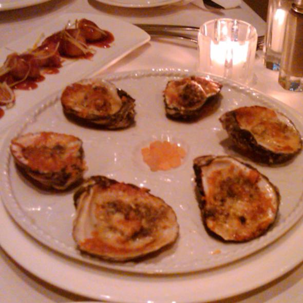 Oysters Bienville @ La Cote Brasserie Restaurant
