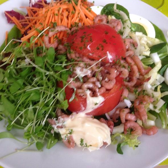 Salade Tomaat Garnaal @ Sandwichbar Deans