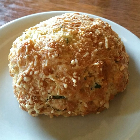 Bacon, Green Onion, Potato, And Cheddar Scone @ Mosquito Cafe
