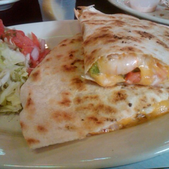 Shrimp Quesadilla @ Sugar Shack