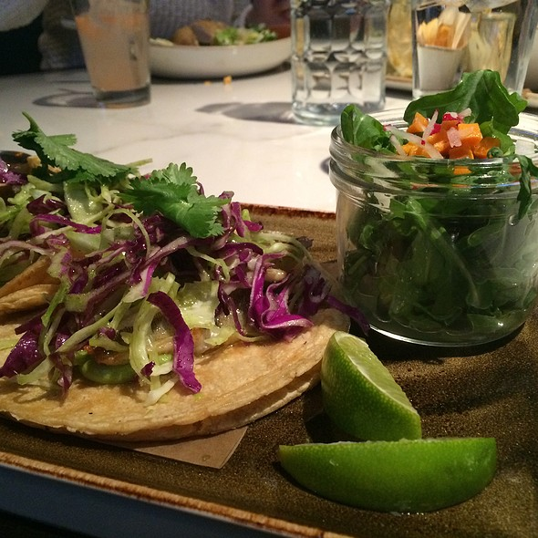 Lake Perch Tacos - State and Lake Chicago Tavern