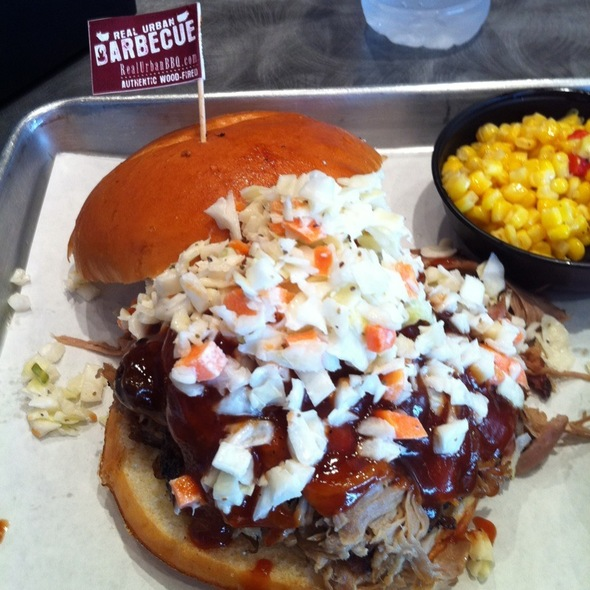 Pulled Pork Sandwich @ Real Urban Barbeque