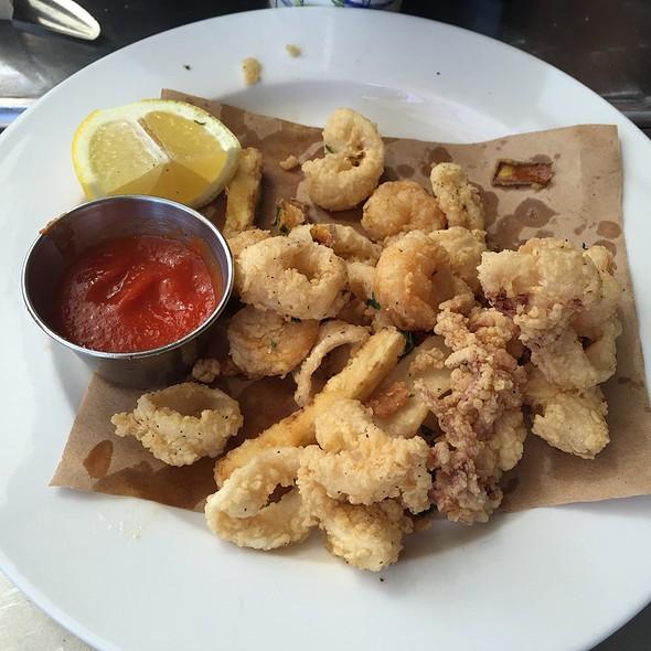 Fried Calamari & Shrimps @ Doppio Zero