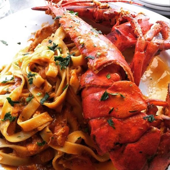 Fettucine with Lobster @ Doppio Zero