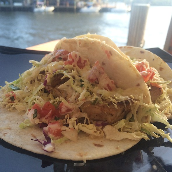 fish tacos - Chart House Restaurant - Ft. Lauderdale, Fort Lauderdale, FL