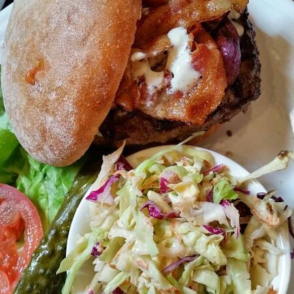 The Mesa Triple Rock Burger  @ Triple Rock Brewery and Alehouse