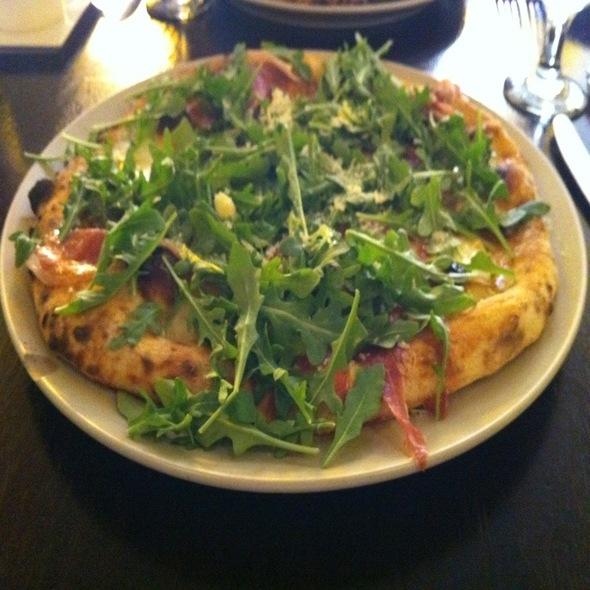 Pizza Montanara @ Quattro Gatti