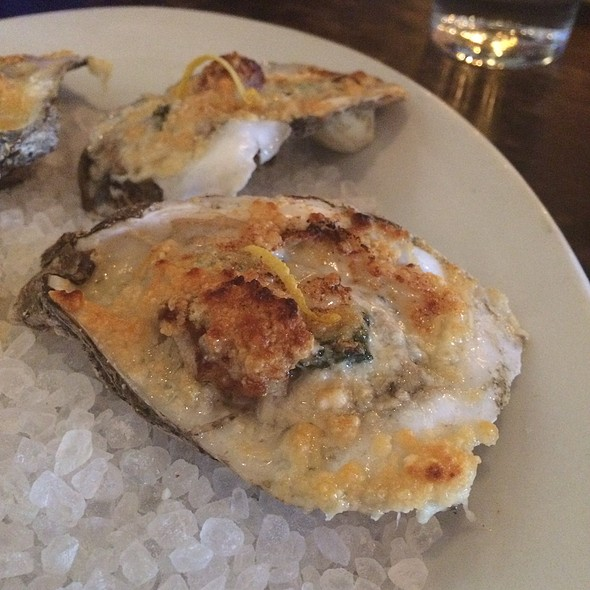 Roasted Oysters @ Restaurant Orsay
