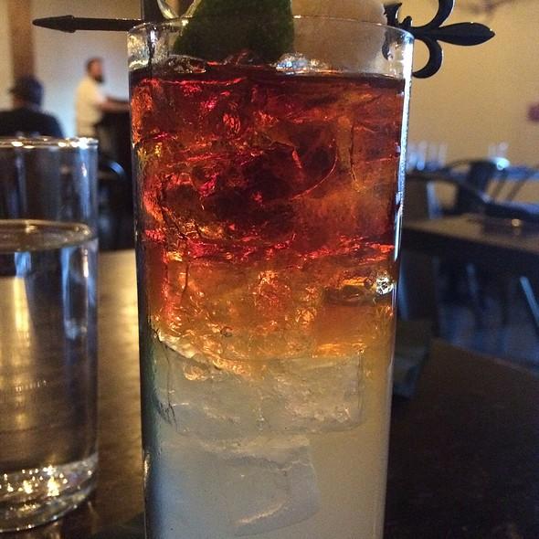 Dark & Stormy (Cocktail) - Restaurant Orsay, Jacksonville, FL