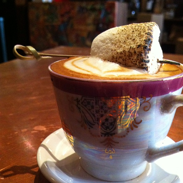 Piccolo Latte W/ Marshmallow Brulee @ The Spiffy Dapper