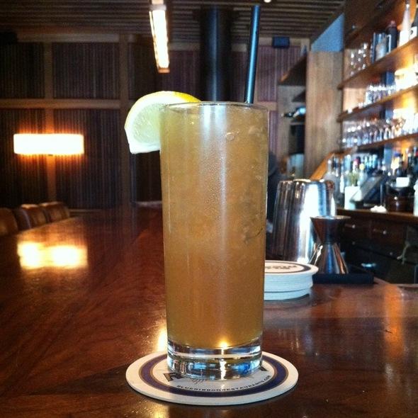 Bourbon Mule @ Blue Ribbon Sushi Bar & Grill