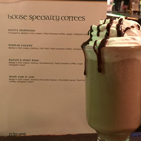 Irish Coffee - T.J. Maloney's, Merrillville, IN
