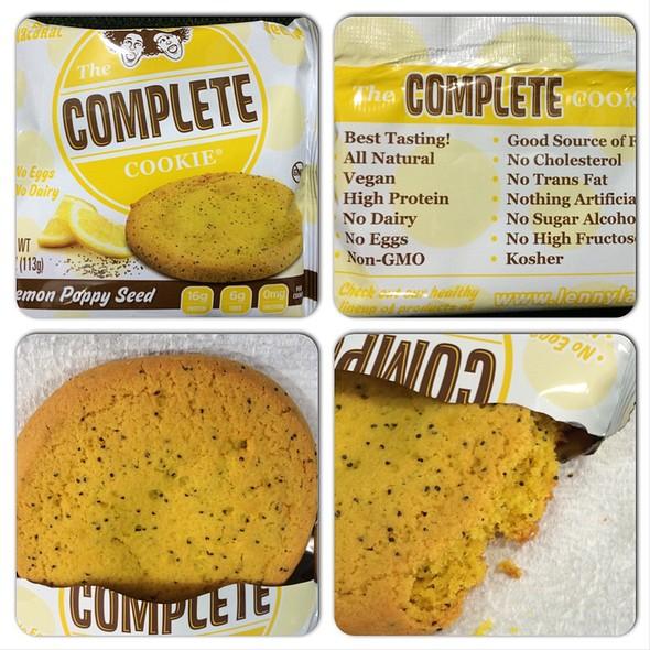 Lemon Poppyseed Complete Cookie @ The Vitamin Shoppe