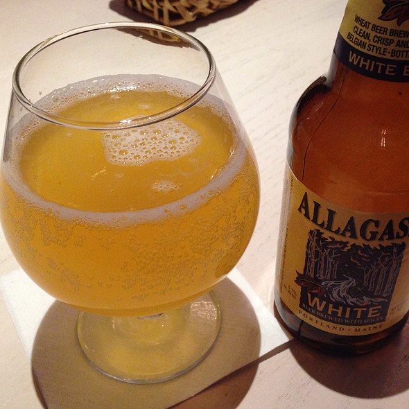 Allagash White - J Morgan's Steakhouse, Montpelier, VT