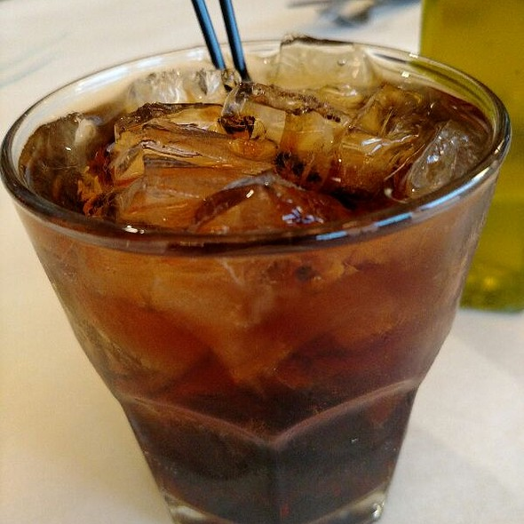 Captain & Coke @ Benvenuto's Restaurant