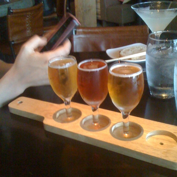 Beer Flights - One Red Door, Hudson, OH