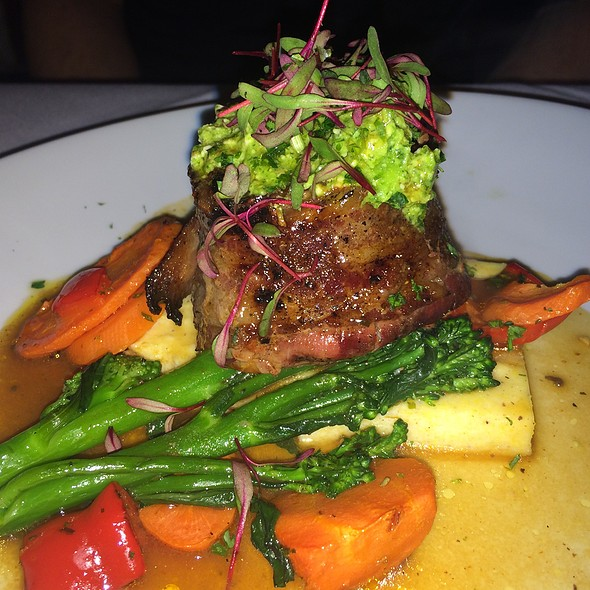 Bacon Wrapped Filet Mignon - Arielle's Country Inn, Sellersville, PA