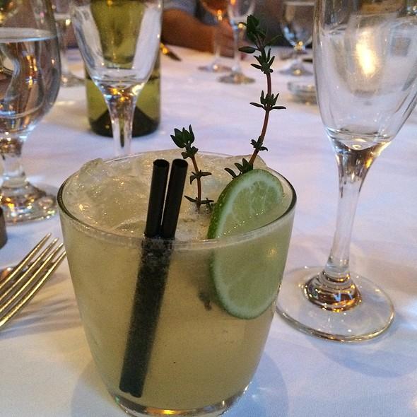 Garden Gimlet @ Millennium Restaurant