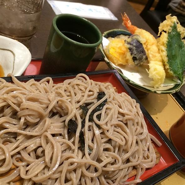 天ぷら ざるそばセット