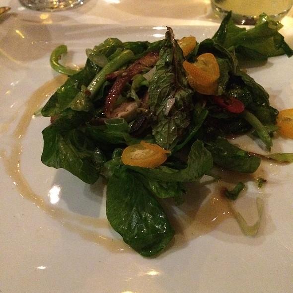 Pea Green Salad @ Millennium Restaurant