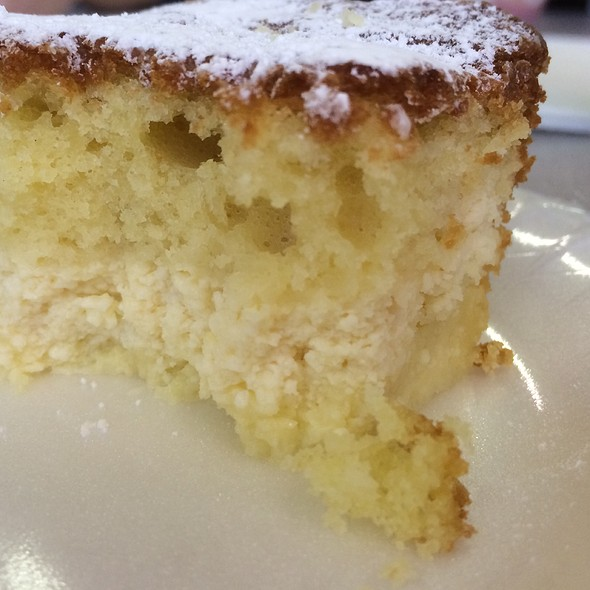 Ricotta Cake @ St Mary Of The Mount Fish Fry