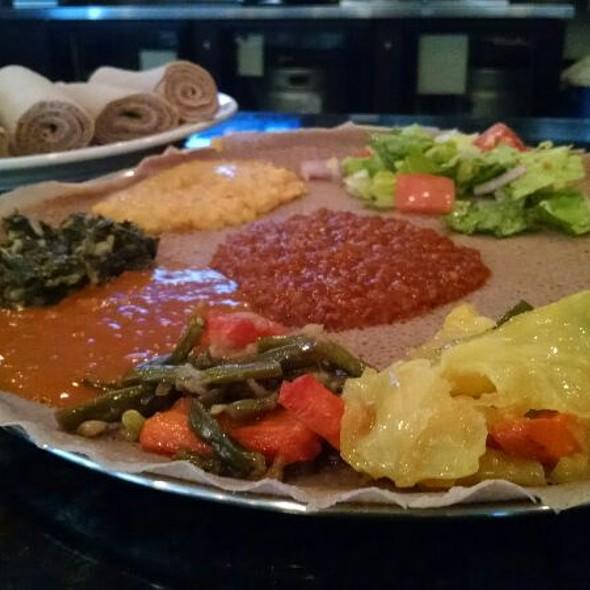 Ethiopian Vegetarian Platter @ Sheba's Ethiopian Kitchen