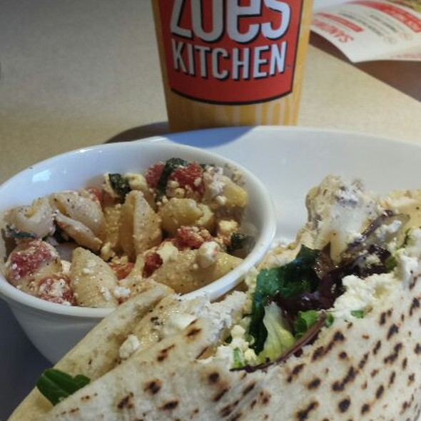 Zoes Kitchen Greek Chicken Pita zoe's kitchen menu - foodspotting
