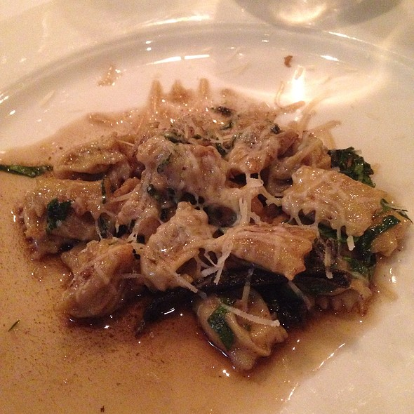 Agnolotti With Brown Butter And Sage