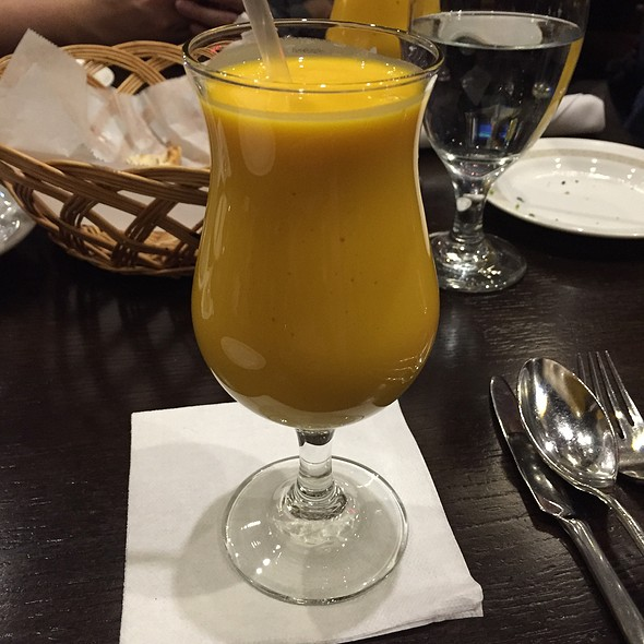 mango lassi - India House - Hoffman Estates, Hoffman Estates, IL