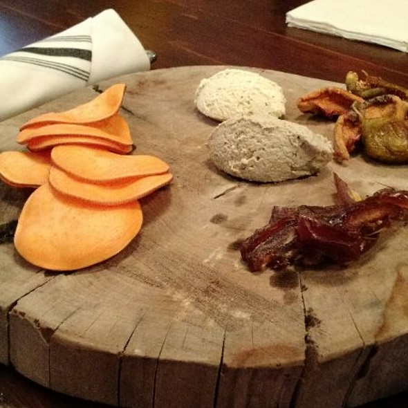 Vegan Board @ Cremer House