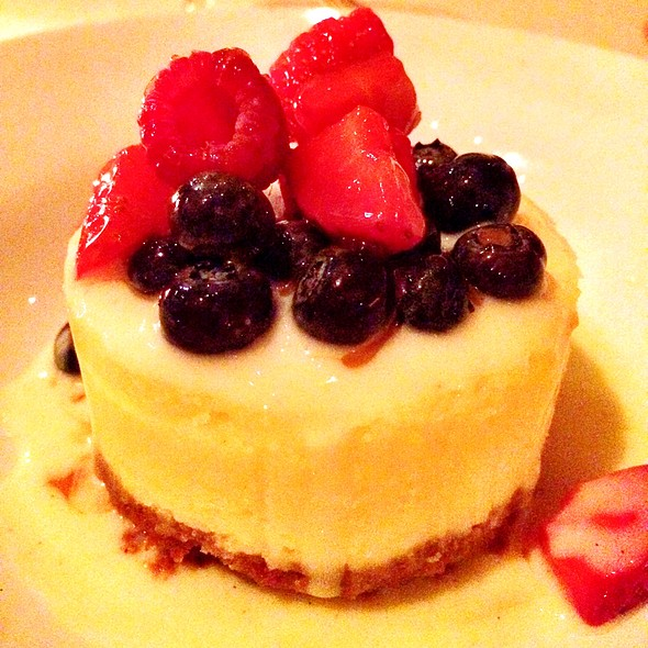 Lemon Limoncello Cheesecake - Onotria Wine Country Cuisine, Costa Mesa, CA