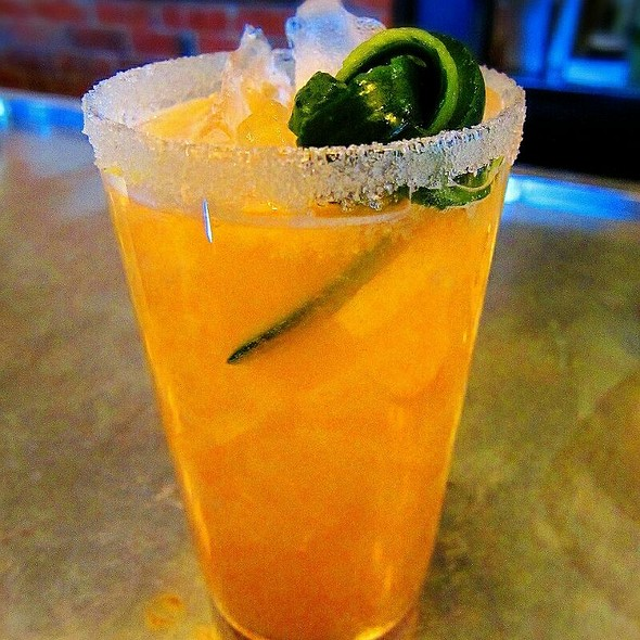 Blue Sea Cocktail @ Fauna Food And Bar