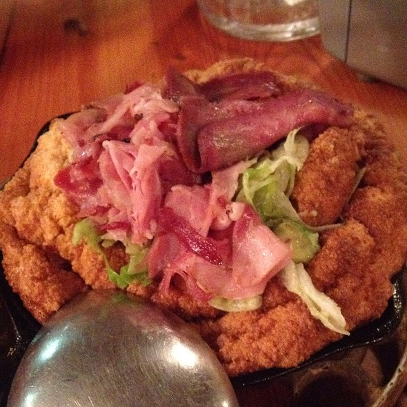Pork And Avocado Souffle @ Cabane à sucre au pied de cochon