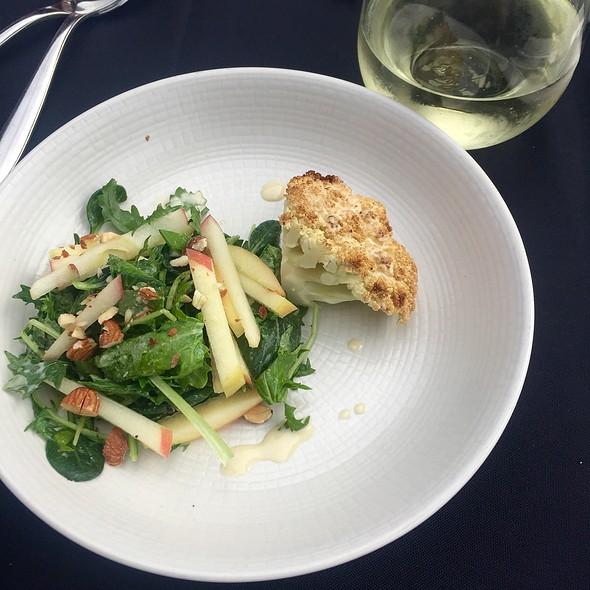 Roasted Cauliflower + Apple Salad