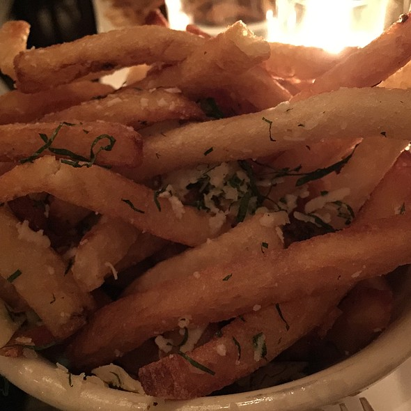 Truffle French Fries - Les Halles, New York, NY