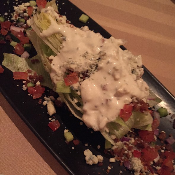 Wedge Salad - Sterling's Seafood Steakhouse at Silver Legacy Resort Casino, Reno, NV