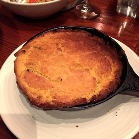 Cast Iron Scallion/Jalapeño Cornbread